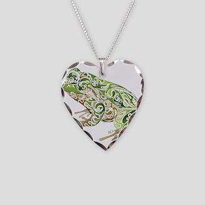 Filligree Frog Necklace