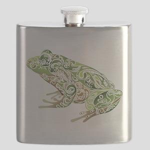 Filligree Frog Flask