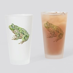 Filligree Frog Drinking Glass