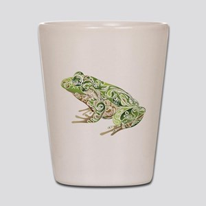 Filligree Frog Shot Glass