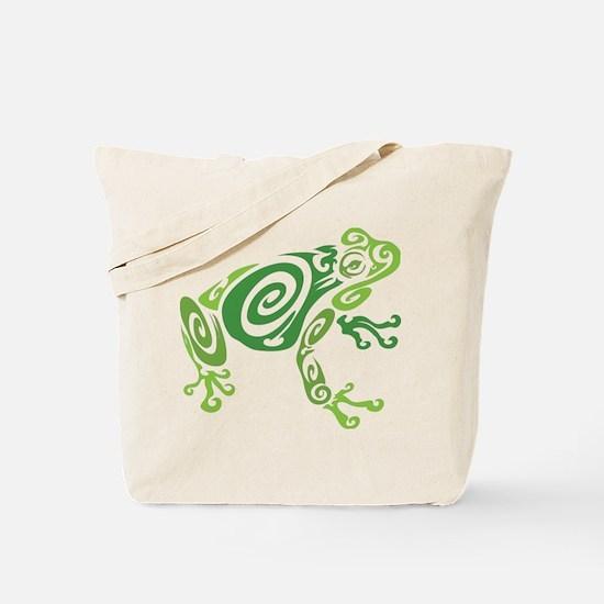 Frog Tattoo Tote Bag