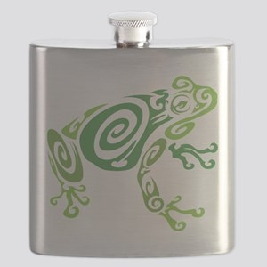Frog Tattoo Flask