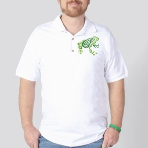 Frog Tattoo Golf Shirt
