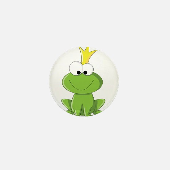 Baby Frog Prince Mini Button