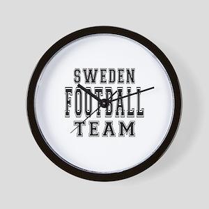 Sweden Football Team Wall Clock