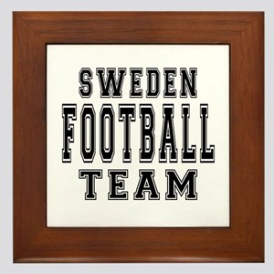 Sweden Football Team Framed Tile
