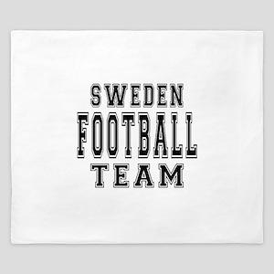 Sweden Football Team King Duvet