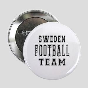 """Sweden Football Team 2.25"""" Button"""