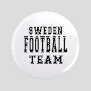 """Sweden Football Team 3.5"""" Button"""