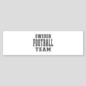Sweden Football Team Sticker (Bumper)