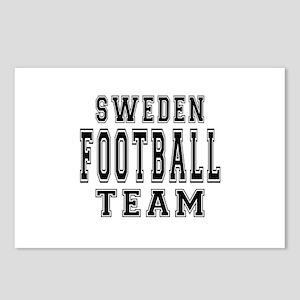 Sweden Football Team Postcards (Package of 8)
