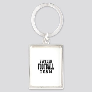 Sweden Football Team Portrait Keychain