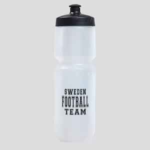 Sweden Football Team Sports Bottle