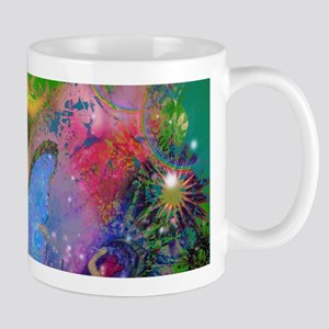 Peacock Butterflies & Blue Morpho Mugs