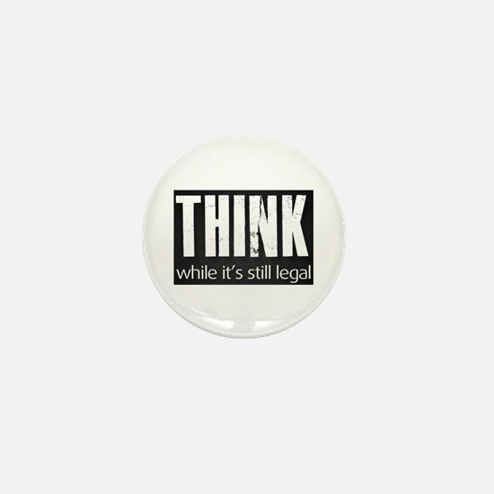 Think sign Mini Button