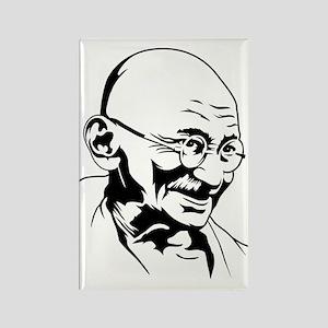 Strk3 Gandhi Rectangle Magnet