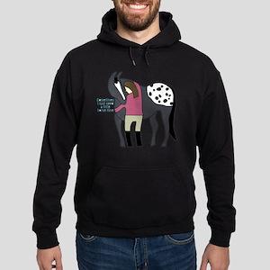 I Need Horse Time - appaloosa Hoodie (dark)