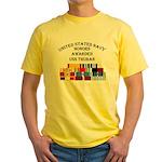USS Thuban Yellow T-Shirt