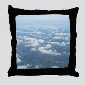 Up above and beyond Throw Pillow