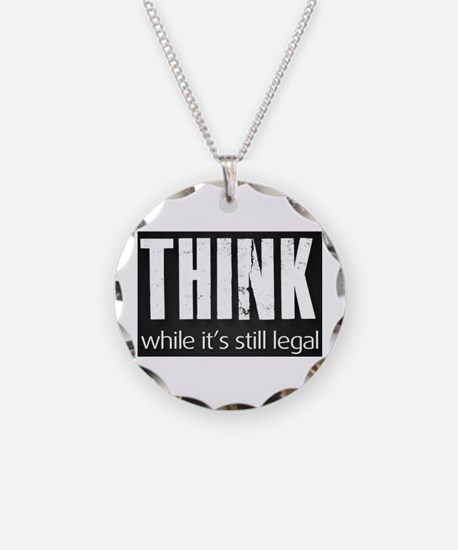Think sign Necklace