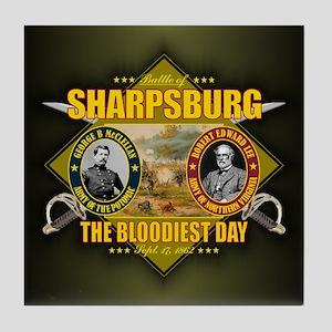 Sharpsburg (battle)1 Tile Coaster