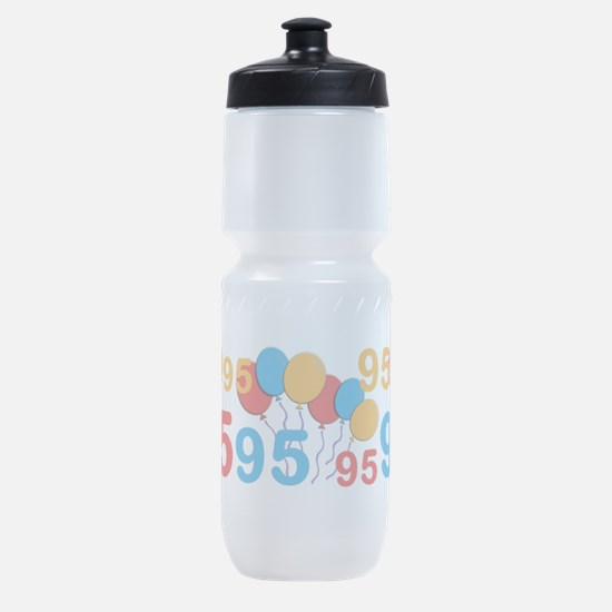 95 years old - 95th Birthday Sports Bottle