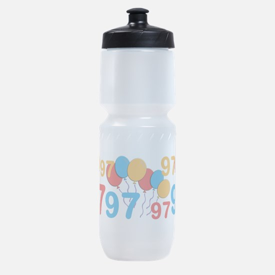 97 years old - 97th Birthday Sports Bottle