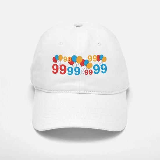 99 years old - 99th Birthday Baseball Baseball Baseball Cap
