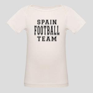Spain Football Team Organic Baby T-Shirt