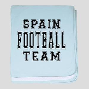 Spain Football Team baby blanket