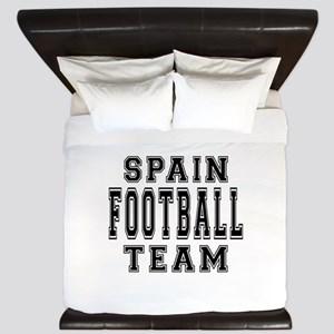 Spain Football Team King Duvet