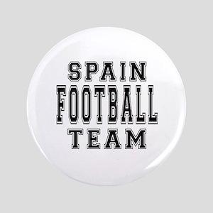 """Spain Football Team 3.5"""" Button"""