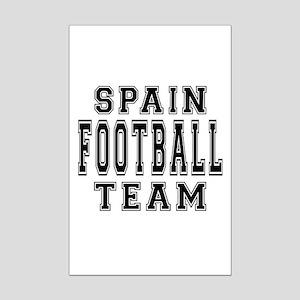 Spain Football Team Mini Poster Print