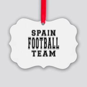 Spain Football Team Picture Ornament