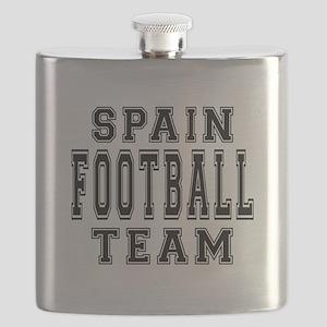 Spain Football Team Flask