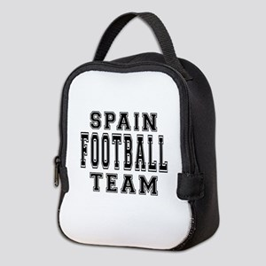 Spain Football Team Neoprene Lunch Bag