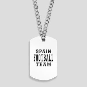 Spain Football Team Dog Tags