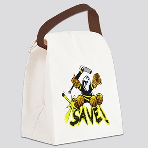SAVE! (dark color t-shirts) Canvas Lunch Bag