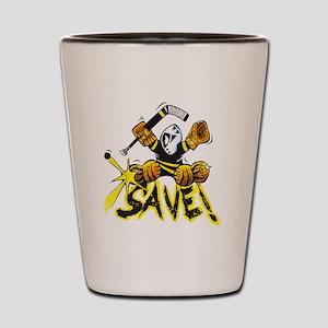 SAVE! (dark color t-shirts) Shot Glass