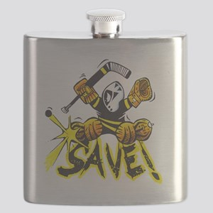 SAVE! (dark color t-shirts) Flask