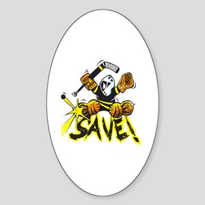 SAVE! (dark color t-shirts) Sticker (Oval)