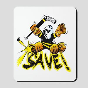 SAVE! (dark color t-shirts) Mousepad