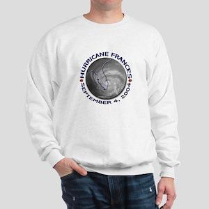 Hurricane Frances Satellite 3 Sweatshirt