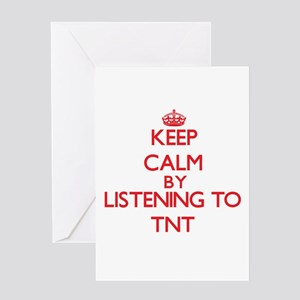 Keep calm by listening to TNT Greeting Cards