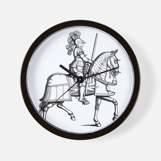 Knight in Armor Wall Clock