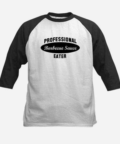 Pro Barbecue Sauce eater Kids Baseball Jersey