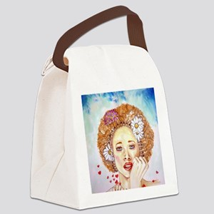 PASSIONATE Canvas Lunch Bag