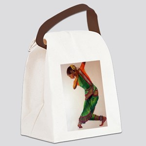INDIAN DANCE I Canvas Lunch Bag