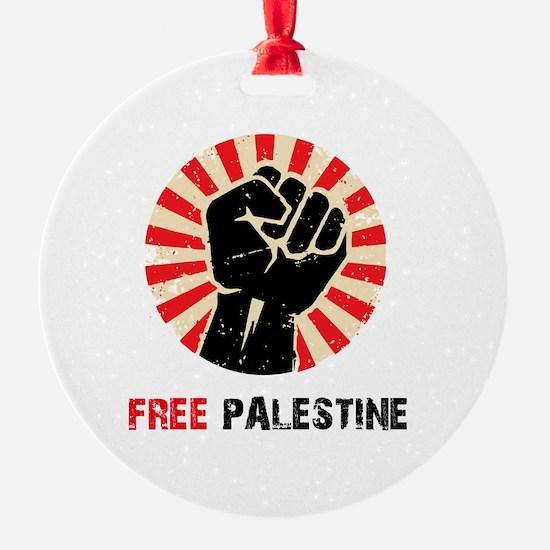 Free Palestine Ornament