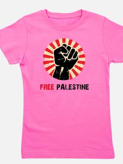 Free Palestine Girl's Tee